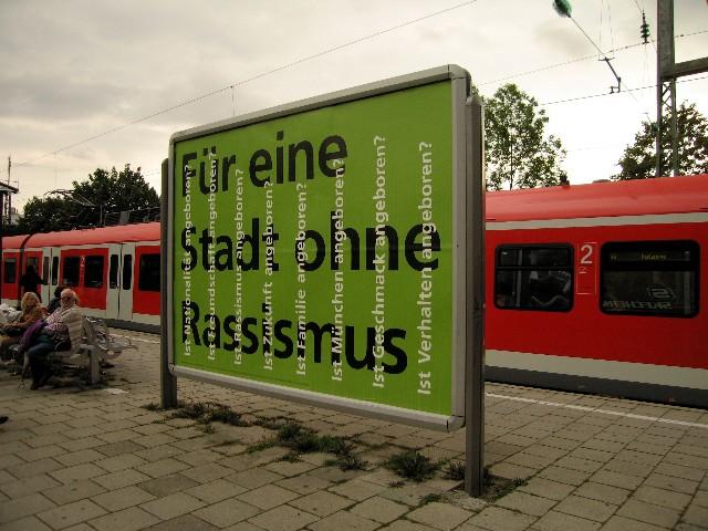 Plakat, Klub Zwei und SchülerInnen der Elly-Heuss-Realschule München, 2006
