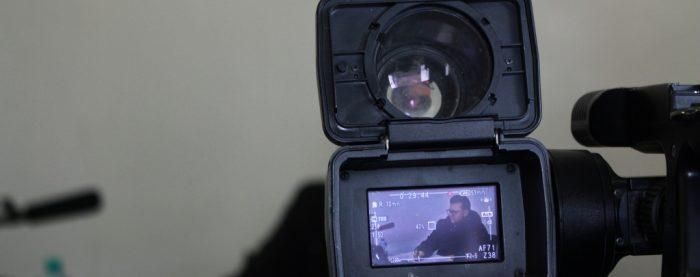 Das Bild zeigt eine Kamera