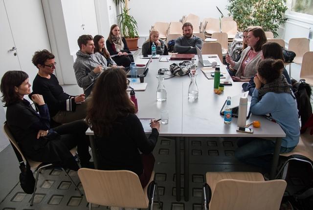 Teilnehmerrunde im Workshop mit Sonja Prlić