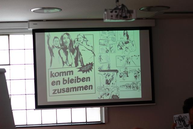 Bild der Powerpointpräsentation im Workshop mit Petja Dimitrova zum Thema