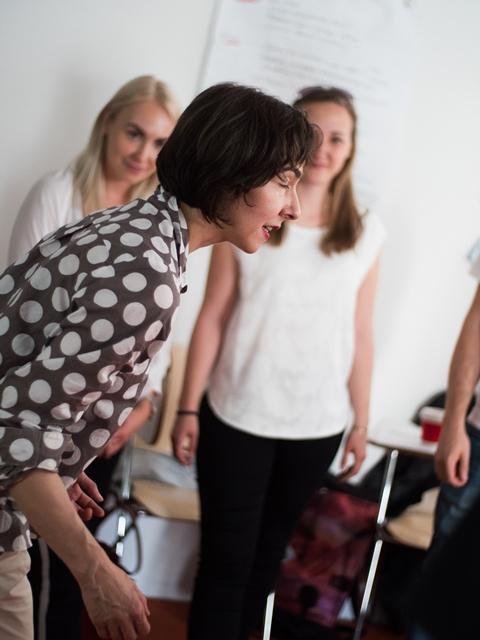 Ulrike laabs im Worksop geschlechter stimmen