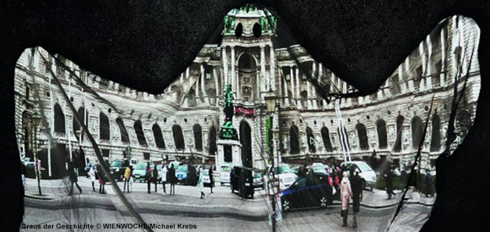 Bild aus dem Projekt Graus der Geschichte ein Gebäude als Gespenst