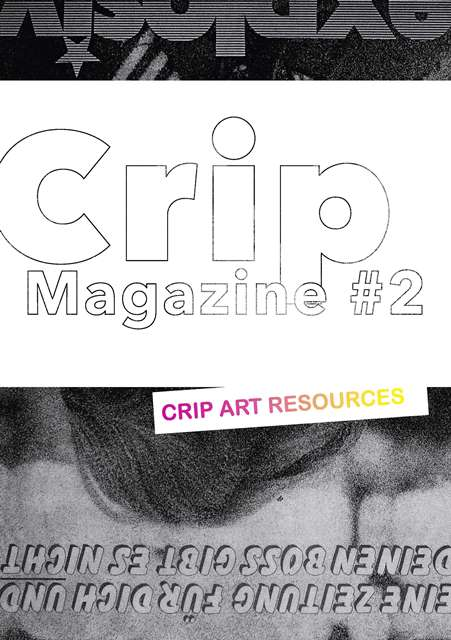 Coverdesign Crip Magazine Ausgabe 2