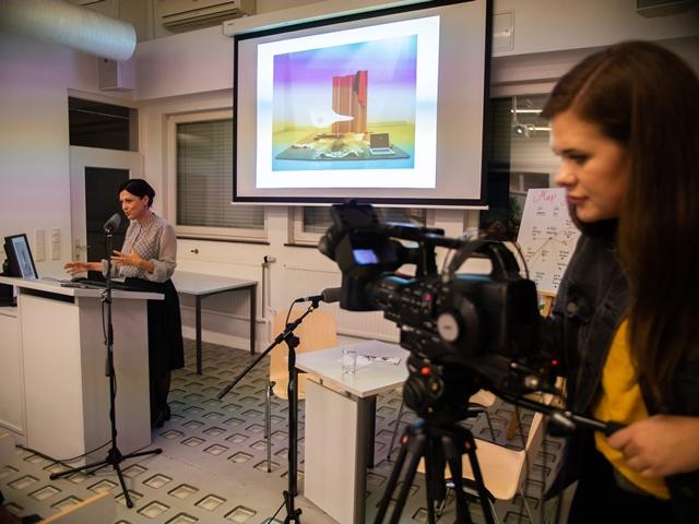 Die Veranstaltungen wurden von einem Film-Team begleitet.
