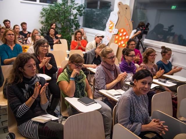 Publikum beim W+K-Forum