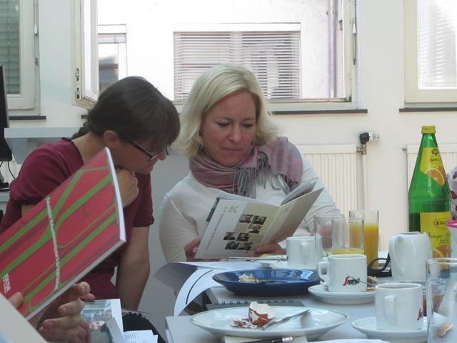 Katrin Petter und Siglinde Lang