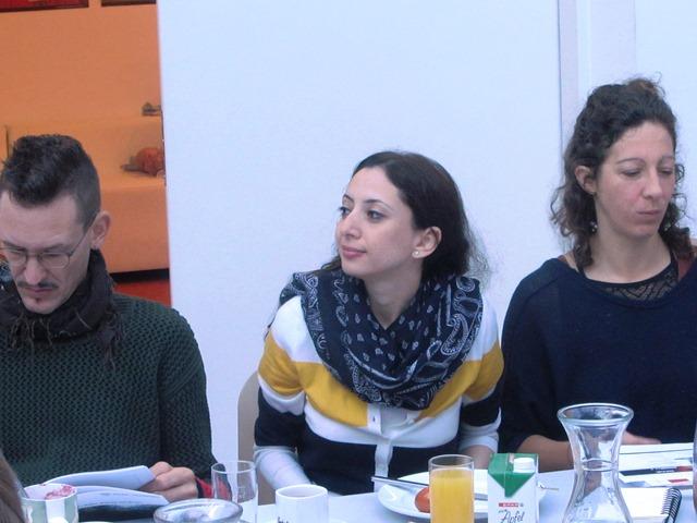 Mario Sinnhofer, Sahereh Astaneh, Christina Pürgy