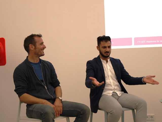 Onur Bakis und Marcel Bleuler