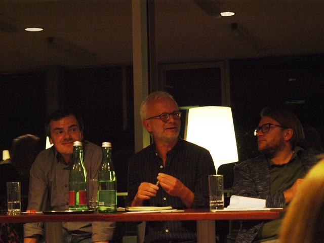 Florian Preisig, Hans Peter Graß, Persson Perry Baumgartinger