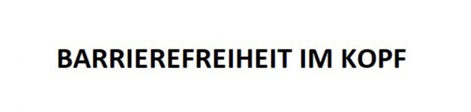 logo Barrierefreiheit im Kopf