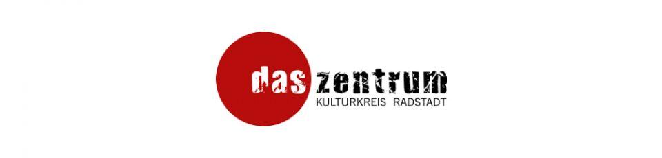 logo das zentrum kulturkreis radstadt mit rotem kreis
