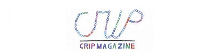 logo crip magazine in bunter schrift