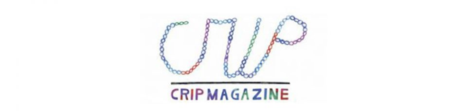 logo crip magazine in bunter schrift