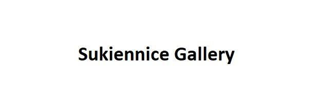 Schriftzug Sukiennice Gallery