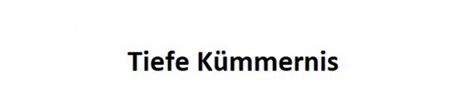 logo Tiefe Kümmernis