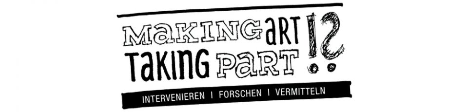 logo making art taking part intervenieren forschen vermitteln
