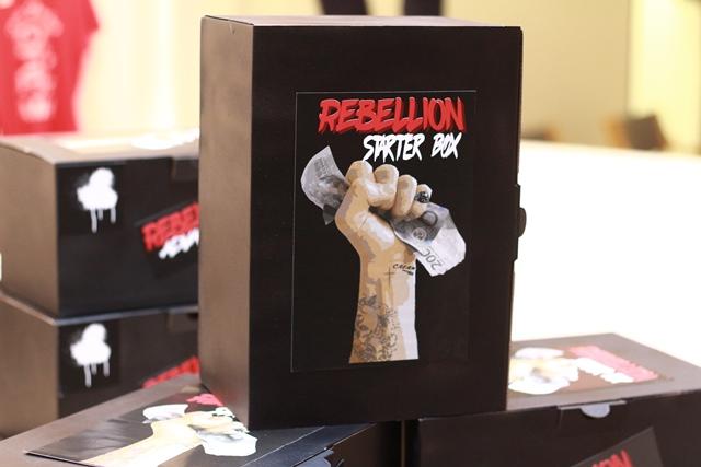 Die Rebellion Starter Box für Anfänger_innen.