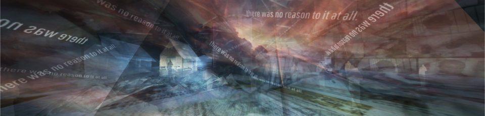 Auschnitt aus dem Spiel from darkness. zu sehen ist eine leere Landschaft, farblich verfremdet