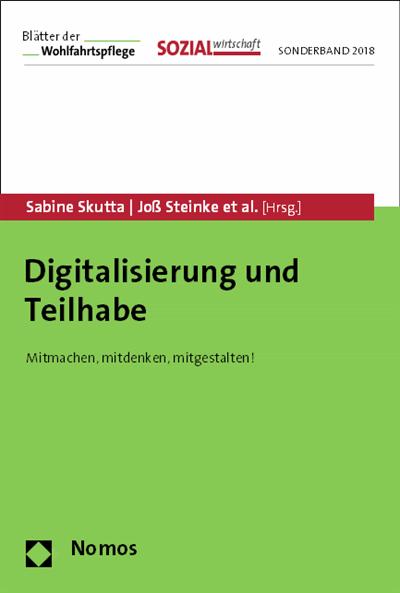 Titelbild Digitalisierung und Teilhabe