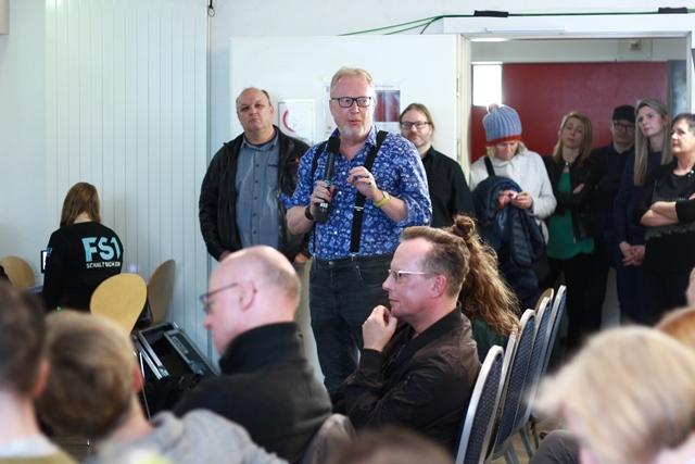 Thomas Friedmann vom Salzburger Literaturhaus saß im Publikum. Foto: Ute Brandhuber-Schemlzinger