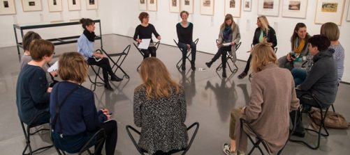 Workshop im Salzburg Museum: Foto: Fabian Schober