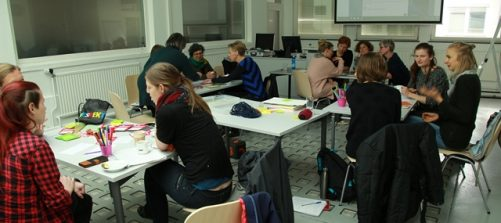 Workshop R.E.S.P.E.K.T. Foto: Ute Brandhuber-Schmelzinger.