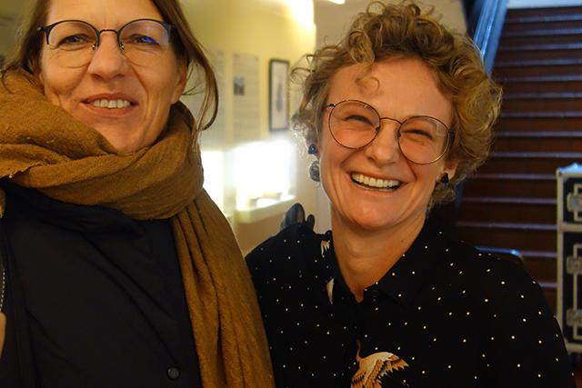 Anita Moser und Diana Schmiderer