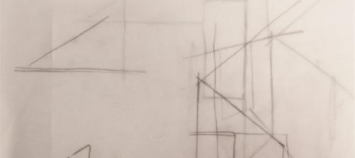 Skizze zur AUsstellung Räumen