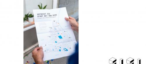 ein stadtplan mit beschriftung entdeckt die stadt mit dem sisi