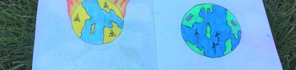 """""""We have no planet B"""" – Künstlerischer Aktivismus und kreative Protestgestaltung"""